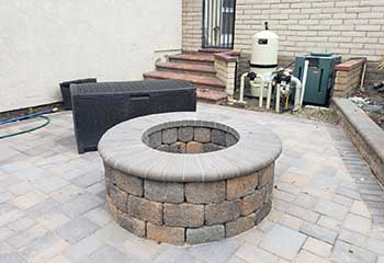 Backyard Fire Pit | S&P Hardscape Remodeling Eagle Rock CA