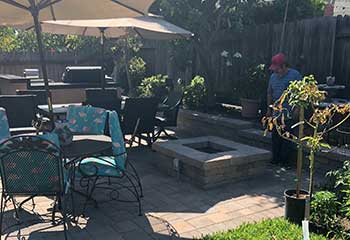 Backyard Paver Patio Installation Nearest Thai Town | S&P Hardscape Remodeling