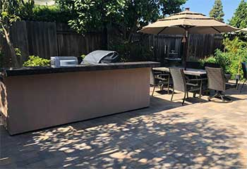 Backyard Fire Pit | S&P Hardscape Remodeling Los Angeles