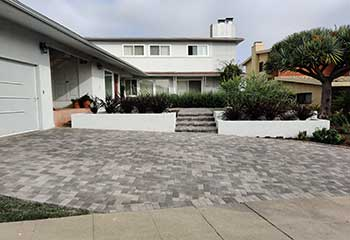 Paving Stone Driveway | S&P Hardscape Remodeling Mid-City CA