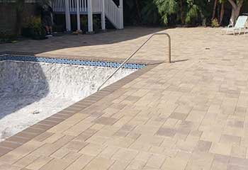 Pool Deck Pavers Maintenance | S&P Hardscape Remodeling Los Angeles | Simi Valley
