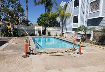 Pool Deck Installation | S&P Hardscape Remodeling Los Angeles