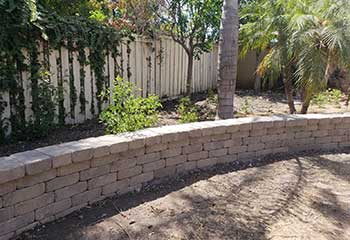 Retaining Wall Installation | Hollywood | S&P Hardscape Remodeling Los Angeles